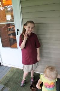 My 3rd grader!